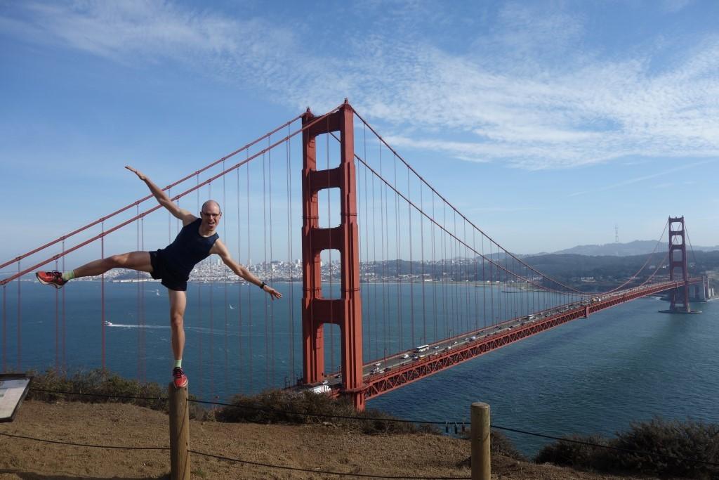 Aussichtspunkt Golden Gate Best GG Bridge Vista