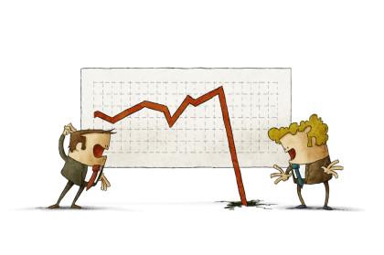 warum Kurse steigen fallen Börse Hausse Baisse Crash