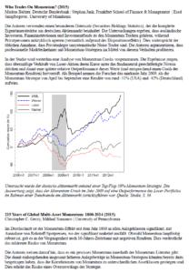 Research Momentum Studien Zusammenfassung PDF