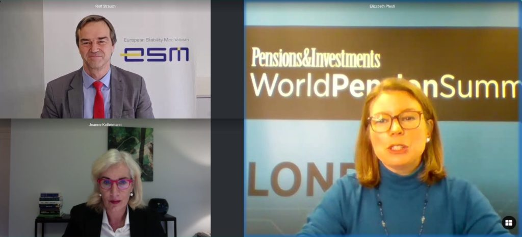 Panel Rolf Strauch World Pension Summit