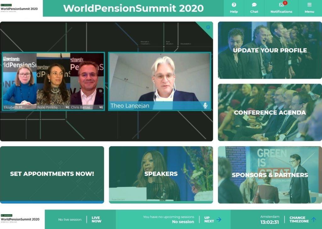 virtuelle Lobby World Pension Summit